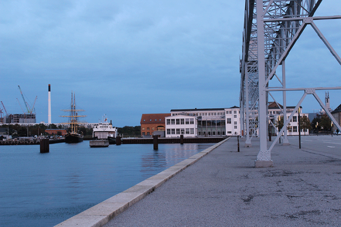 Arbeitsräume im weißen Gebäude - Erasmus in Kopenhagen