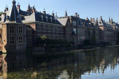 Blick auf den Binnenhof