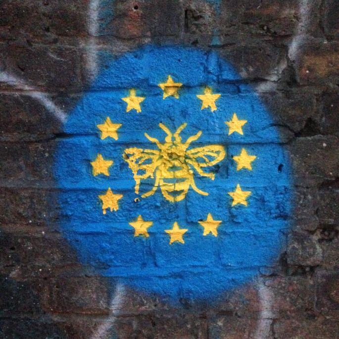 Die Biene ist das Stadtsymbol von Manchester